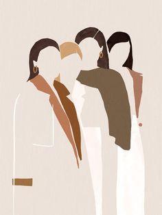 drawing by Caroline Morin art abstract Minimalist Women Illustration Woman Illustration, Graphic Design Illustration, Graphic Art, Robot Illustration, Illustration Fashion, Fashion Illustrations, Watercolor Illustration, Fashion Sketches, Art Sketches