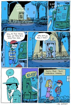 Zac Gorman makes unbelievable comics. - Album on Imgur