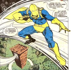 Doctor Fate Dc Doctor, Suspended Animation, Lyrics