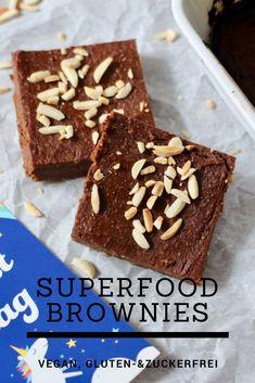 Süßkartoffel Brownies, Vegan Superfood, Healthy Baking, Healthy Food, Sweet Potato Brownies Vegan, Vegan Food, Vegan Recipes, Vegan Sugar, Vegan Breakfast, Healthy Habits
