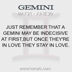 Fact about Gemini: Just remember that a Gemini may be indecisive at... #gemini, #geminifact, #zodiac. More info here: https://www.horozo.com/blog/just-remember-that-a-gemini-may-be-indecisive-at/ Astrology dating site: https://www.horozo.com