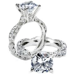 My dream ring... What's not to love about this BEAUTIFUL Tacori ring?  Tacori style# 2578 RD9