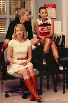 Dianna Agron Naya Rivera Heather Morris