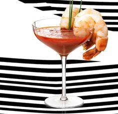 Serve your shrimp cocktails in style.