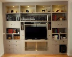 Bibliotheque TV Cheminee Sweet Home, New Homes, The Unit, Studio, Furniture, Ainsi, Home Decor, Pose, Decoration