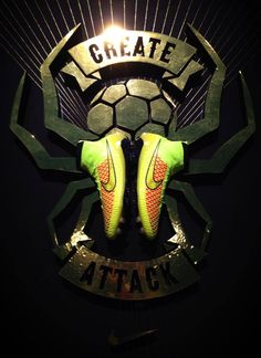 Nike: Magista                    Create Attack           Playmakers Boot