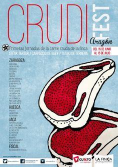 ¡Hoy comienza #Crudifest! Disfruta de esta Jornada en nuestros restaurantes Celebris y Aragonia hasta el 15 de julio. ¡No te lo pierdas!