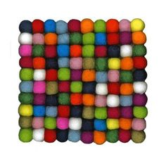 LACMA Store - Felted Wool Square Trivet