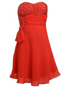 Red dress One Shoulder, Formal Dresses, Red, Fashion, Tea Length Formal Dresses, Moda, Formal Gowns, Fashion Styles, Black Tie Dresses