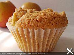 Apfelmuffins mit Zimtkruste (Rezept mit Bild) von Kartoffel_1 | Chefkoch.de