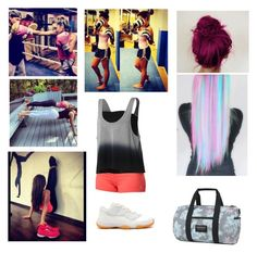 """Hitting the private gym"" by batgirl-natasja on Polyvore featuring Roxy, adidas and Retrò"
