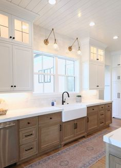 Affordable Farmhouse Kitchen Design Ideas 24