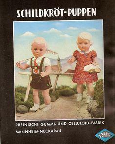 1951 Schildkröt - Puppen