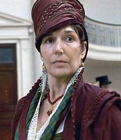 Persuasion (1995) The domineering Lady Russell who persuaded Ann to give up her chance of happiness when she was young because Captain Wentworth was not rich and a man of little consequence.