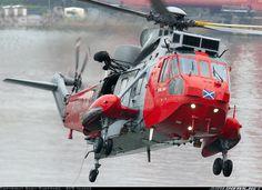 Royal Navy Sea King HU5