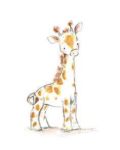Dieser süße Baby-gegenübergestelltes Giraffe macht die jolliest Gefährten. Eine schöne Reproduktion meiner ursprünglichen Malerei, erfolgt dieses Porträt drucken, über exquisite Claria Druckfarben und eine wunderbare Premium Epson Matte Papier (beide sind getestet und garantiert Fleck, kratzen, Wasser und Ausbleichen resistent bis zu 90 + Jahre). Je 5 x 7 und 8 x 10 print kommt in einer Kurve beständig Mailer und einer Cellophan-Hülle verpackt. Alle größeren Format (11 x 14 und größer)…