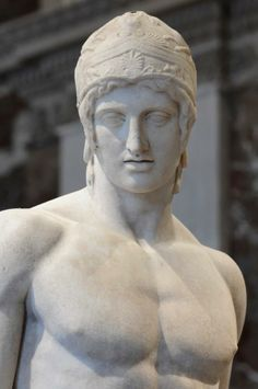 Statue of Ares - from the Agora of Athens;  2th century BC, Roman copy of a Greek statue in 5 century BC, attributed to Alkamenes