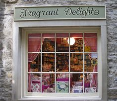 Fragrant Delights, Skipton, Yorkshire UK