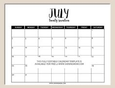 free printable fully editable 2017 calendar templates in word format
