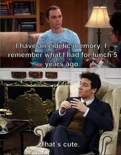 The Big Bang Theory meets How I Met Your Mother (finally :)