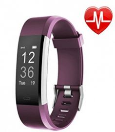 LETSCOM Fitness Tracker HR, Activity Tracker Watch with Heart Rate Monitor, Waterproof Smart Fitness Band with Step Counter, Calorie Counter, Pedometer Watch for Women and Men Best Fitness Watch, Best Fitness Tracker, Activity Tracker Watch, Fitness Watches For Women, Heart Rate Monitor, Burn Calories, Calories Burned, Beautiful Watches, Fun Workouts