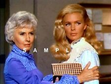 BARBARA STANWYCK LINDA EVANS THE BIG VALLEY COLOR 4X6 PHOTO #BV157