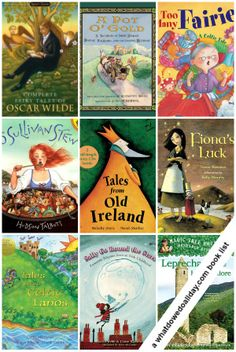 10 books: Celtic and Irish Folktales. Perfect for March reading! @Erica Cerulo Cerulo Cerulo • What Do We Do All Day?