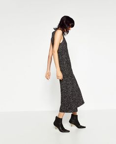 Image 3 of CROPPED JUMPSUIT from Zara