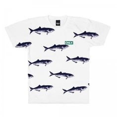Only NY - Bluefish Tee White