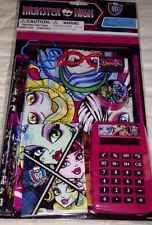 Monster High School Supplies 7 Piece  Study Kit Stationary Set NEW