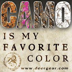 Camo #WeAreLegendary www.deergear.com