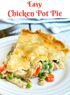 Looking for Fast & Easy Chicken Recipes, Main Dish Recipes! Recipechart has over free recipes for you to browse. Find more recipes like Easy Chicken Pot Pie. Easy Chicken Pot Pie, Chicken Recipes, Rotisserie Chicken Pot Pie Recipe, Cream Chicken, Chicken Wraps, Recipe Chicken, Chicken Soup, Chicken Salad, Beef Recipes