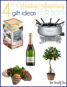 Wedding Gifts For 4 Years : ... Gifts For Him, Wedding Anniversary Gift Ideas, Fourth Anniversary Gift