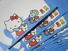 Set+of+10+Vintage+Hello+kitty+Postcards+Cards+JAPAN+by+smithregan,+$10.00