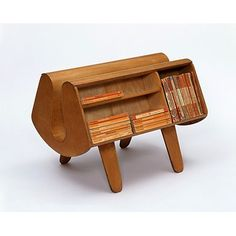 The Penguin Donkey was a rather bizarre, purpose-built piece of furniture commissioned by British publisher Penguin Books. It was intended to hold the relatively new-fangled invention of paperback books, which had been a success in the UK since their emergence four years earlier, in 1935.