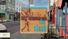 The Clash, Black Market Clash | 12 Iconic London Album Covers You Can Visit On Street View