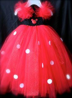 Minnie Mouse Inspired Tutu Dress. $29.00, via Etsy.