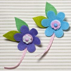 Felt Flower Brooches | Craft Ideas & Inspirational Projects | Hobbycraft