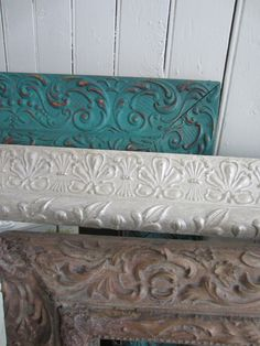 Frames painted with Chalk Paint (tm) by Annie Sloan