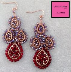Leah Earrings €110.  ChristinaBelle.  0868260001
