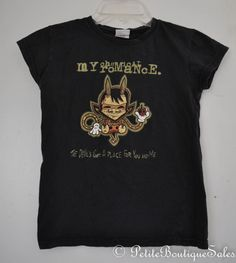 MY CHEMICAL ROMANCE BAND TEE T SHIRT TOP BLOUSE SIZE S SMALL WOMEN'S CLOTHING