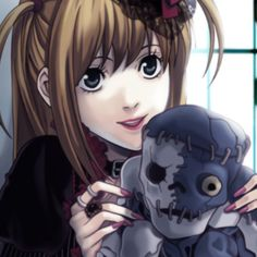 Anime Couples Drawings, Couple Drawings, Death Note, Amane Misa, Aliens, 8bit Art, Otaku, Picture Icon, Goth Art