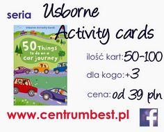 Centrum Edukacyjne BEST: Motywacja dla najmniejszych i Usborne Acitivity Cards!