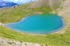 Gignoux Lake, also called Seven Colors Lake, in the mountains of the moon area of the Western Alps, near the border with France and Italy.Photographer: Marco Zante