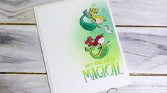 Stampin Up Magical Day stamp set. Card by Suzanne Netz via sunnstampin.com
