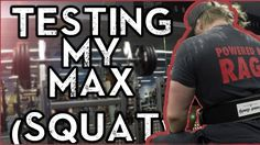Max effort Squat testing  (160kgs) -  Conjugate test week