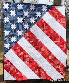 4fe507f0a197 Old Glory and NTT (My Quilt Infatuation)
