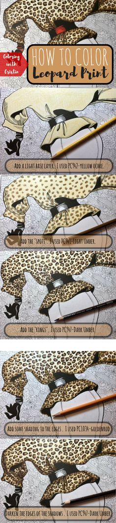 5 Easy Steps To Coloring A Kickass Leopard Print