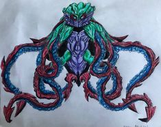 Kraken (Legendary Style) by BozzerKazooers on DeviantArt Kraken, Hero, Deviantart, Style, Swag, Outfits