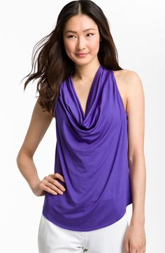 Trina Turk 'Kerala' Cowl Neck Sleeveless Top | Nordstrom